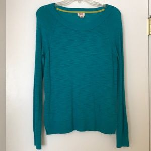 Teal Mossimo Sweater